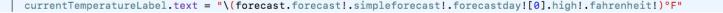 Swift String Interpolation Fix